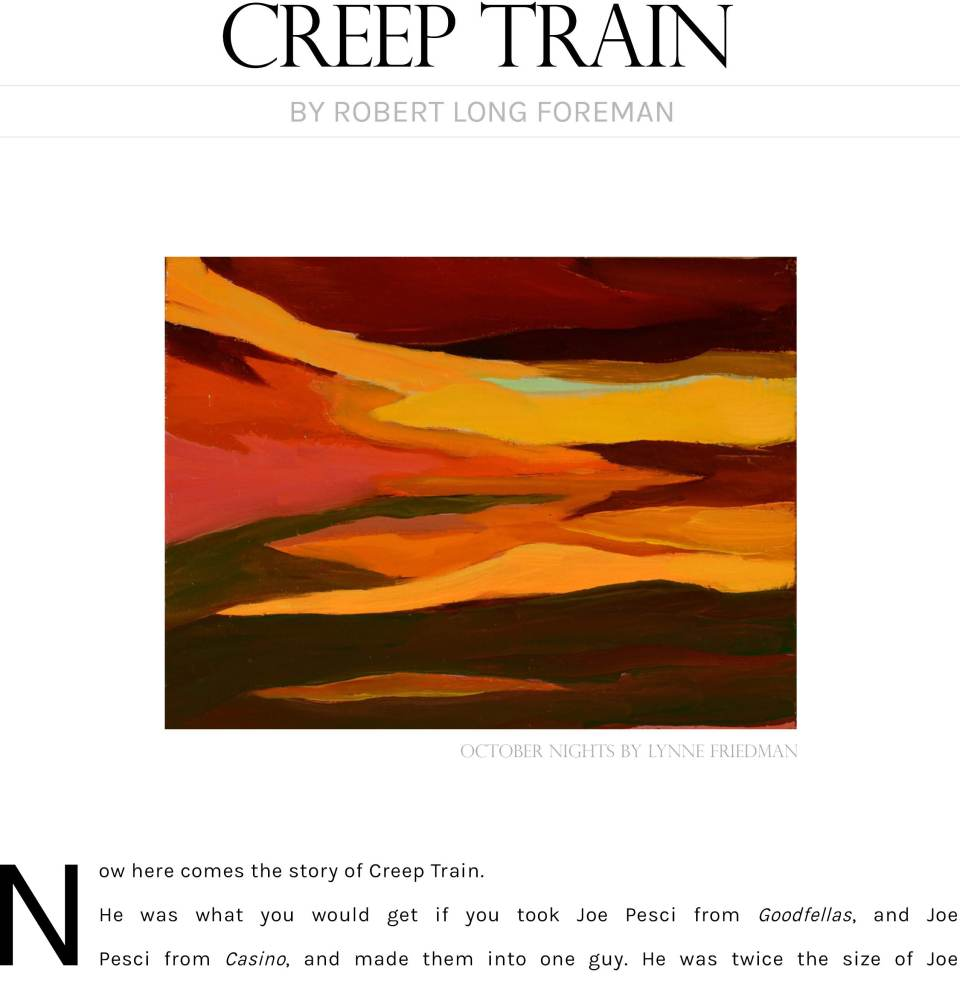 Creep Train by Foreman