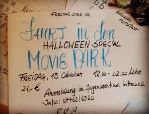 moviepark halloween horrorfest spass gruseln monster wittmund juz