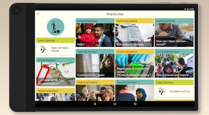 App Ankommen in Deutschland