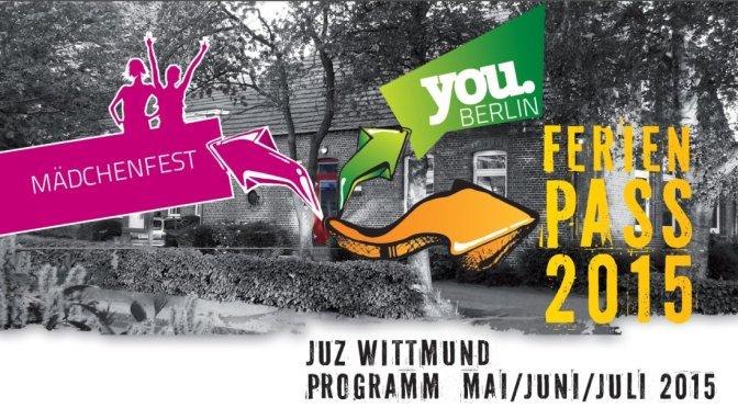 Unser zweites Programm 2015