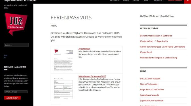 Ferienpass 2015 – downloads