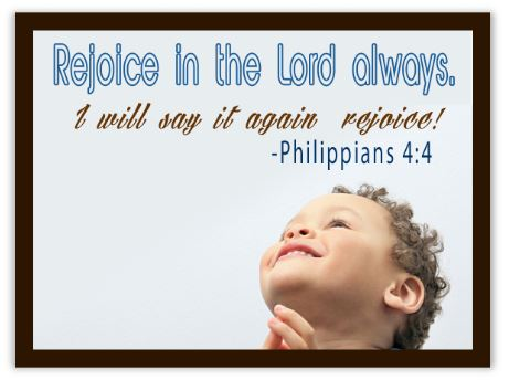 Image result for image philippians 4:4