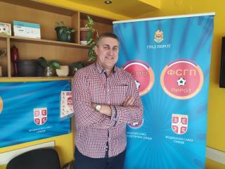 Vladica Tošić predsednik je Fudbalskog saveza grada Pirota