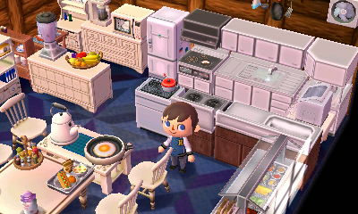 Lion Town - Jeff's Dream Suite Adventures on Kitchen Items Animal Crossing  id=95738