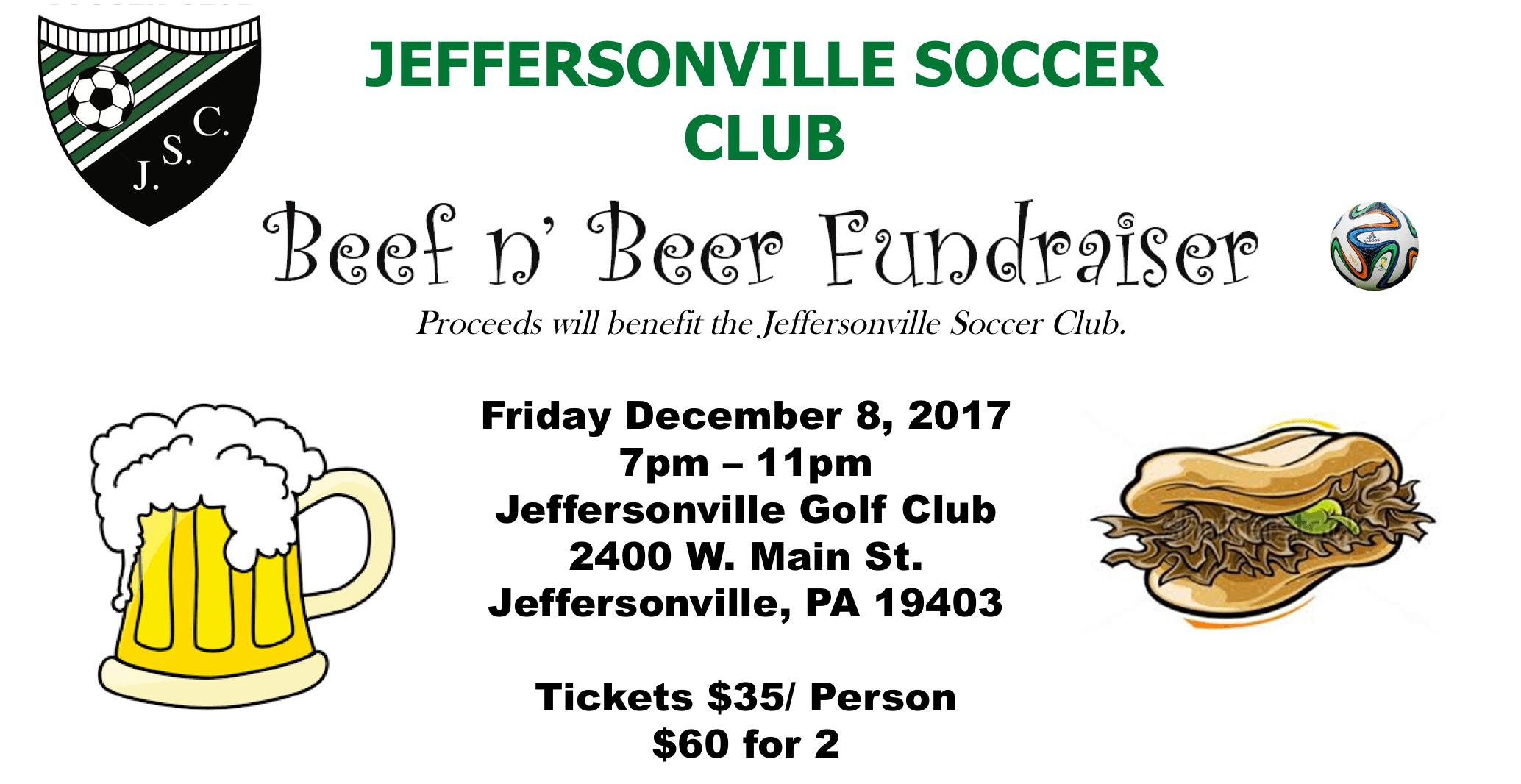 2017 Beef n' Beer Fundraiser