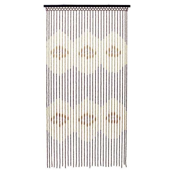 tuscany hanging wooden beaded door curtain screen