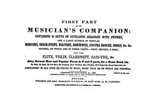 Musicians Companion Title