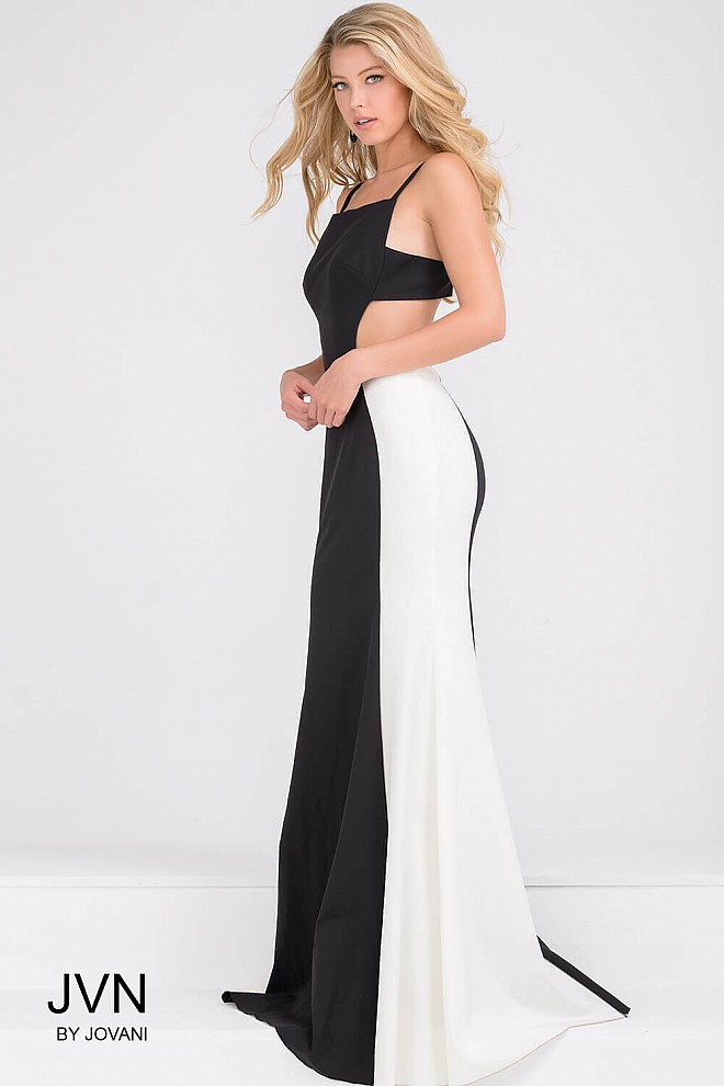 Dresses Fitted White Back Open