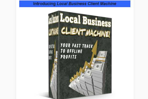 Local Business Client Machine Pro WSO by Lee Cole