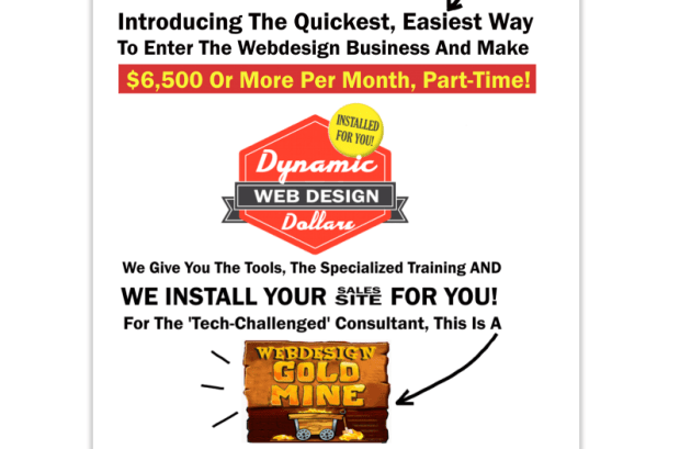 Dynamic Web Design Dollars WSO Formula