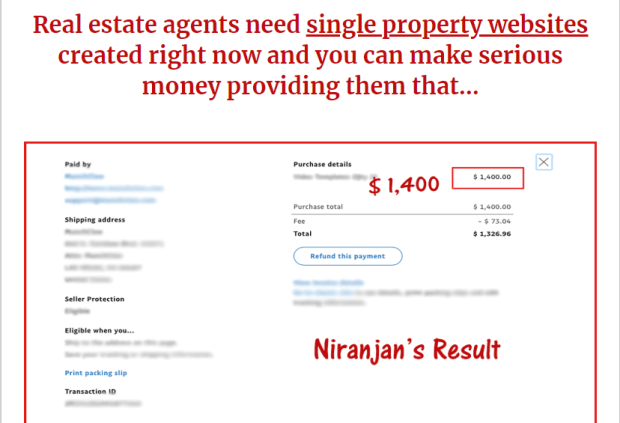 Real Estate Marketing Profits WSO by Niranjan Pradhan
