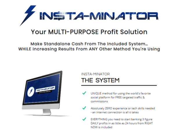 InstaMinator PRO Software Training by MoshBari