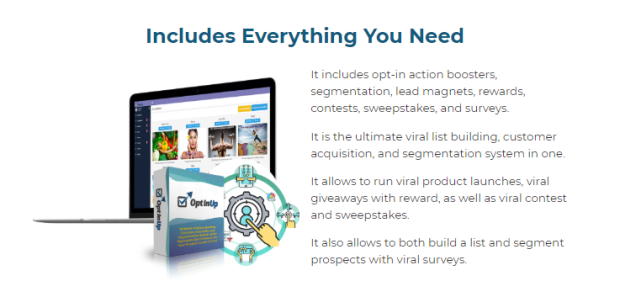 OptInUp PRO Lead Generation Software by Andrew Darius
