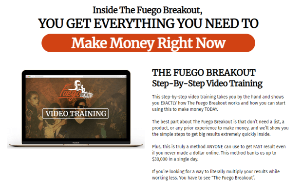 The Fuego Breakout PRO WSO System by Brendan Mace