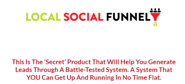 Growth Hack Mindset: Local Social Funnel WSO by Kerry Knoll