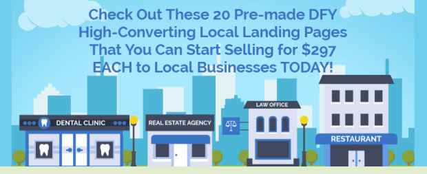Instant Local Landing Pages WSO by Pixelcrafter