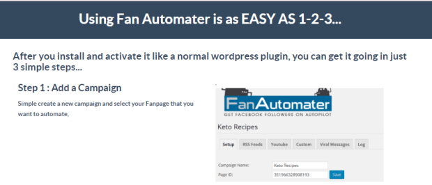 Fan Automater Pro Fanpage Software by Dan Green