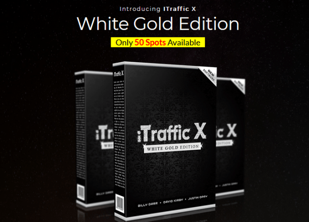 iTraffic X White Gold Edition Upgrade OTO