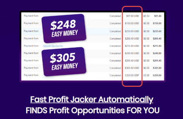 Fast Profit Jacker Pro Software by Jason Fulton