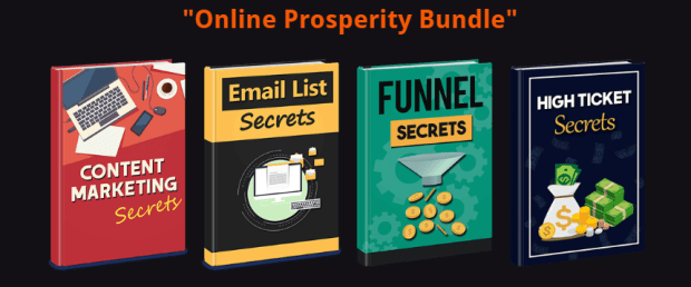 Online Prosperity PLR Bundle by Emmanuel Sunny