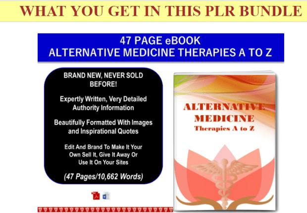 Alternative Medicine In The Modern World PLR by JR Lang