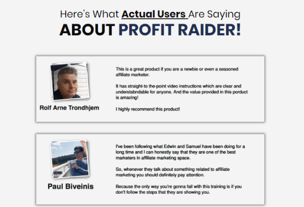 Profit Raider Training System by Samuel Cheena