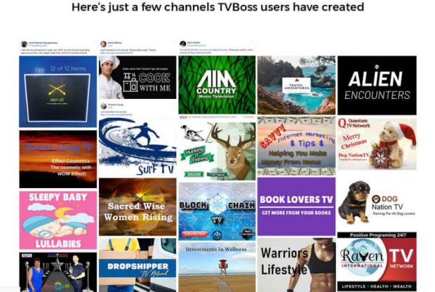 TV Boss Fire MutiChannel Software by Craig Crawford