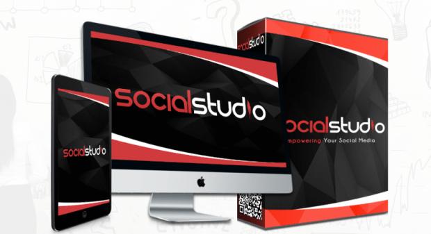 Social Studio App Software by Richard Fairbain