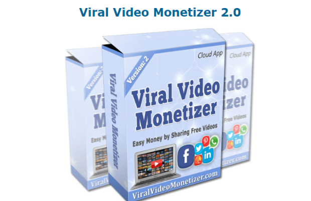 Viral Video Monetizer 2.0 App Software by Ali Anjamparuthi