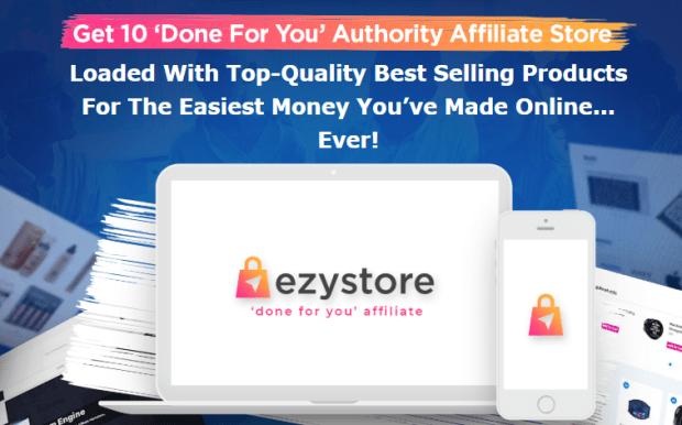 EzyStore Pro DFY Store Upgrade OTO