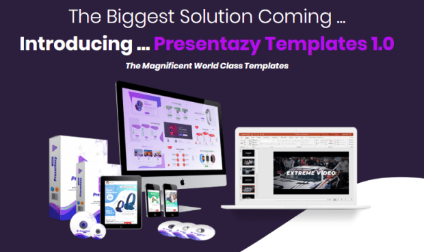 Presentazy Templates 1.0 Package by Azam Dzulfikar
