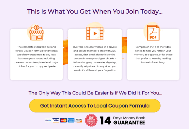 Local Coupon Formula WSO System by Ivana Bosnjak