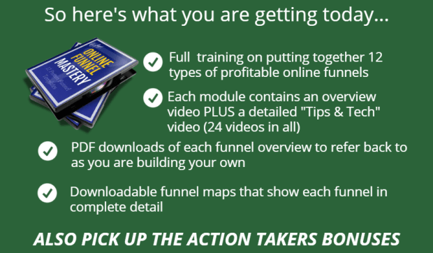 Online Funnel Mastery WSO Training System