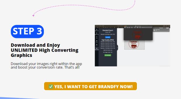 Brandfy Software OTO Upsell by Marian Rusu