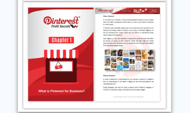 Pinterest Profit Secrets PLR & OTO Upsell