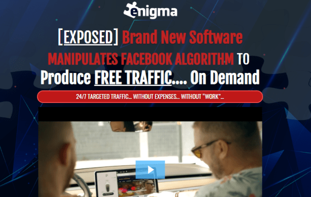 Enigma System OTO Upsell Review by Jono Amstrong