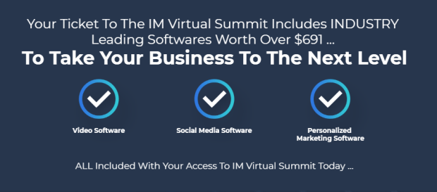 IM Virtual Summit 2019 & OTO by Jamie Ohler