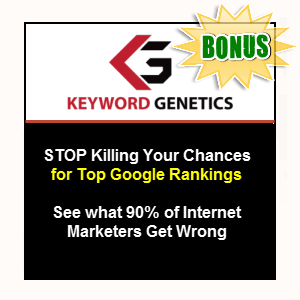 Niche Genetics Bonuses  - Keyword Genetics (Developer) (for OTO buyers)