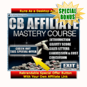 Special Bonuses - July 2015 - CB Affiliate Master Course Software