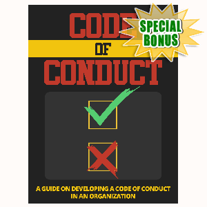 Special Bonuses - July 2015 - Code Of Conduct