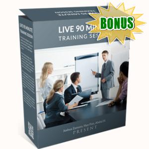 VideoRankr Bonuses  - LIVE 90 Minute Training Session and QnA