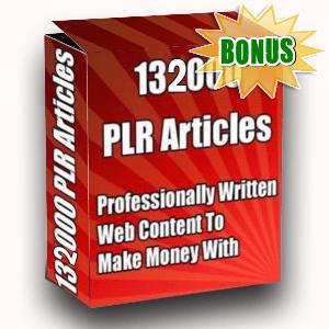 Article Partner Bonuses  - 13200 PLR Articles