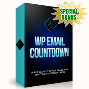 Special Bonuses - August 2015 - WP Email Countdown Plugin
