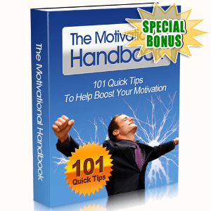 Special Bonuses - September 2015 - The Motivational Handbook