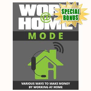 Special Bonuses - September 2015 - Work At Home Mode