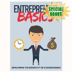 Special Bonuses - September 2015 - Entrepreneur Basics