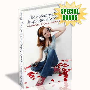 Special Bonuses - September 2015 - The Foremost Book Of Inspirational Song Titles