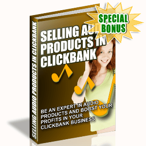 Special Bonuses - September 2015 - Selling Audio Products In Clickbank