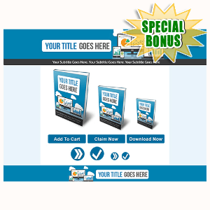 Special Bonuses - November 2015 - Marketing Minisite Template
