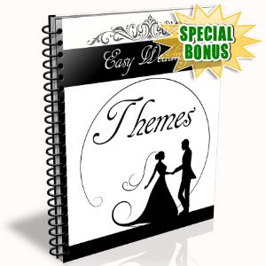 Special Bonuses - February 2016 - Easy Wedding Themes